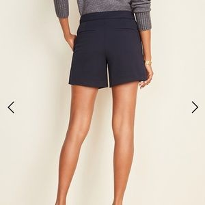 NWOT Ann Taylor Navy Dress Shorts